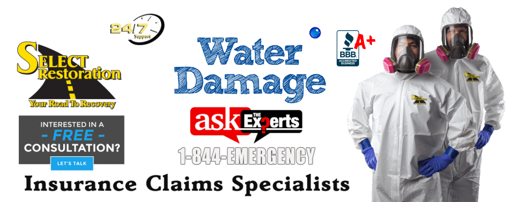 Water Damage Repair Contractor Michigan