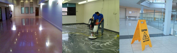 Floor Stripping, Waxing, Buffing in Macomb, Oakland, Wayne County MI